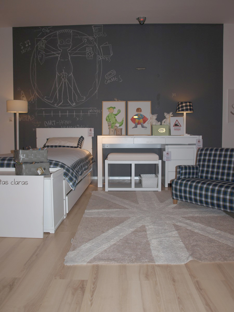 Paredes infantiles blog de cuarto color part 2 - Habitaciones color gris ...